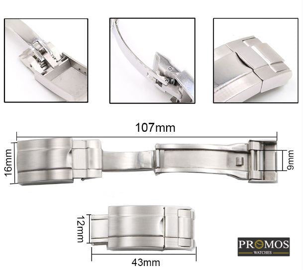 Lock Clasp Watch Band