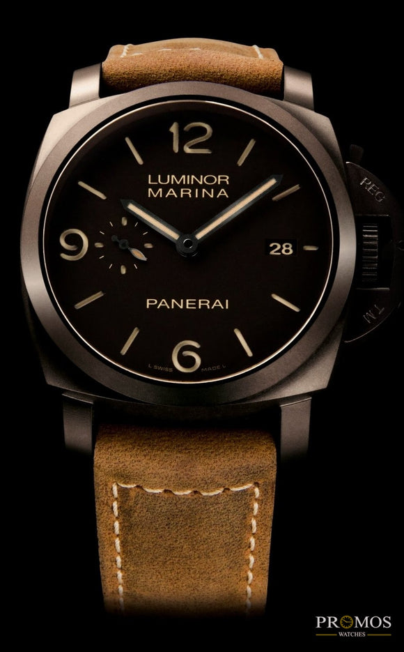 Luminor Marina Genuine Leather-Automatic Movement Watches