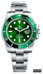 Submariner Silver Style & 3*colors Dial-Automatic Movement Green Watches