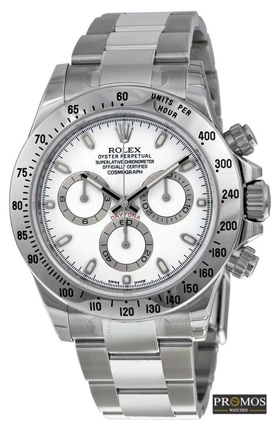 Daytona 24 Silver Style & White Dial -Automatic Movement Watches