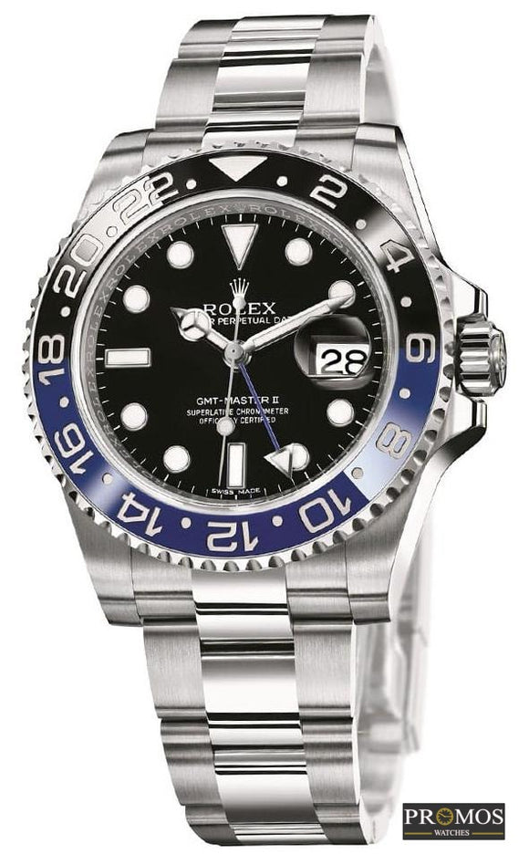 Gmt-Master Ii Silver Style & Black-Blue Dial -Automatic Movement Watches