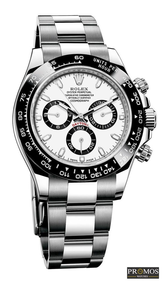 Daytona 24 Silver & White Dial -Automatic Movement Watches
