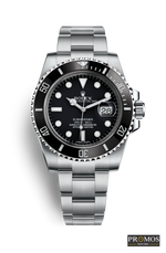 Submariner Silver Style & 3*colors Dial-Automatic Movement Black Watches