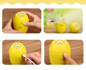 Bem Estar - Difusor E Umidificador Aromaterapia USB Mini Lemon - 180ml