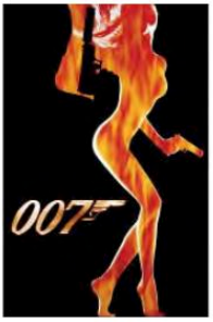 ****DISCONTINUED****007 Silhouette Postcard -