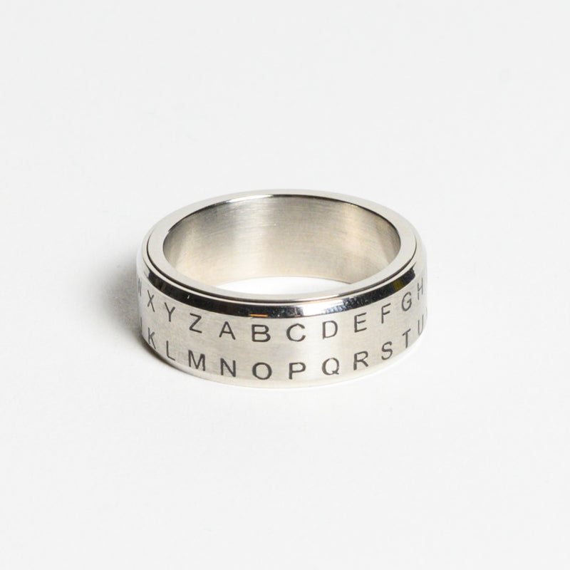 Alphabet Shift Secret Decoder Ring -