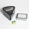 007 Trivial Pursuit - Parts out box, include playing cards and dize