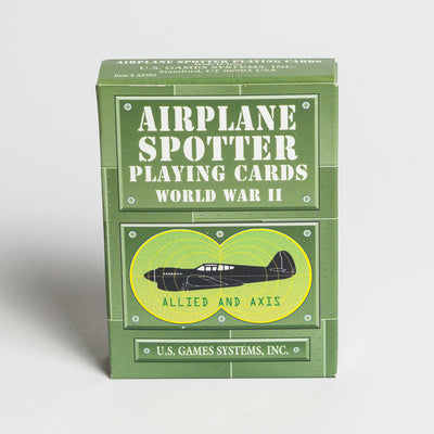 Airplane Spotter Playing Cards -