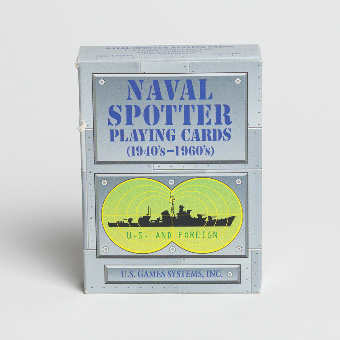 Naval Spotter Playing Cards