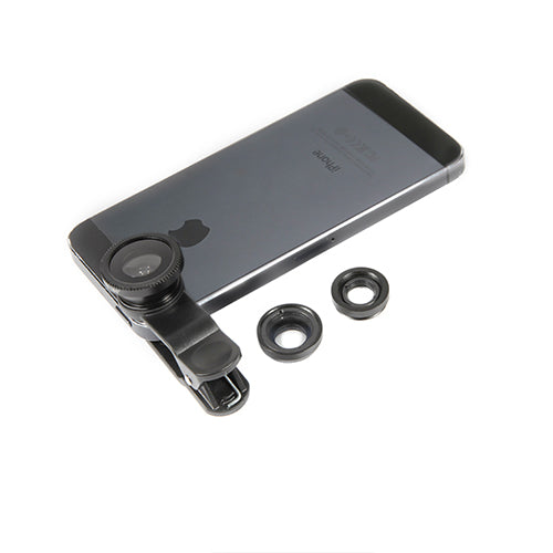 3-In-1 Cell Phone Lens Set