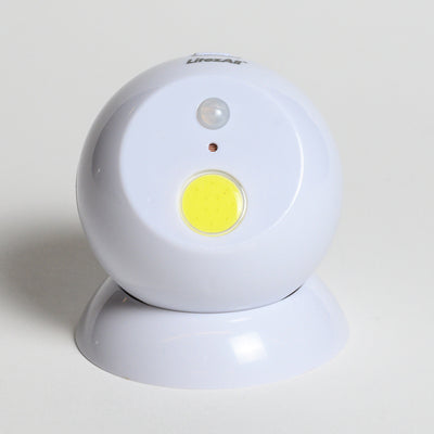 Motion Sensor Ball - Front view  of the box of Motion Sensor Ball