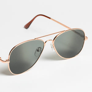Rear View Aviator Sunglasses