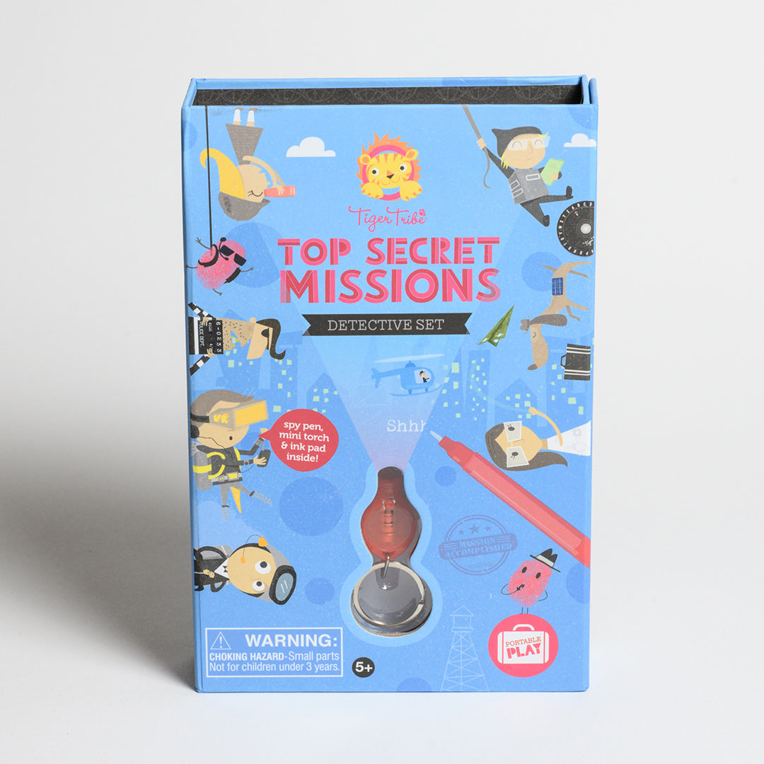 Top Secret Missions Detective Set