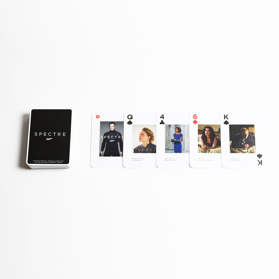 007 Limited Edition Spectre Playing Cards -