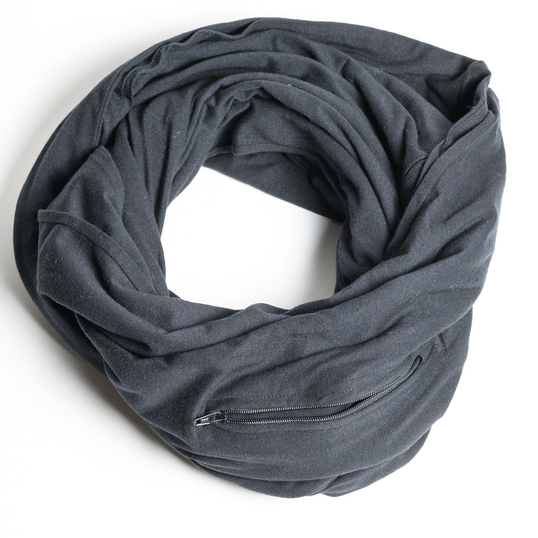 Hidden Pocket Infinity Scarf -