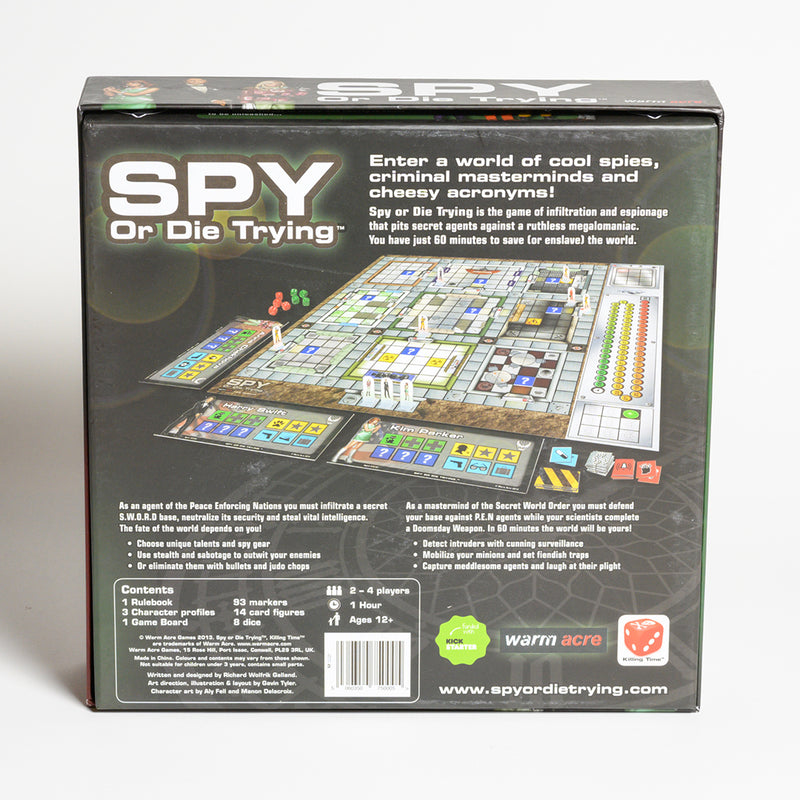 Spy Or Die Trying -