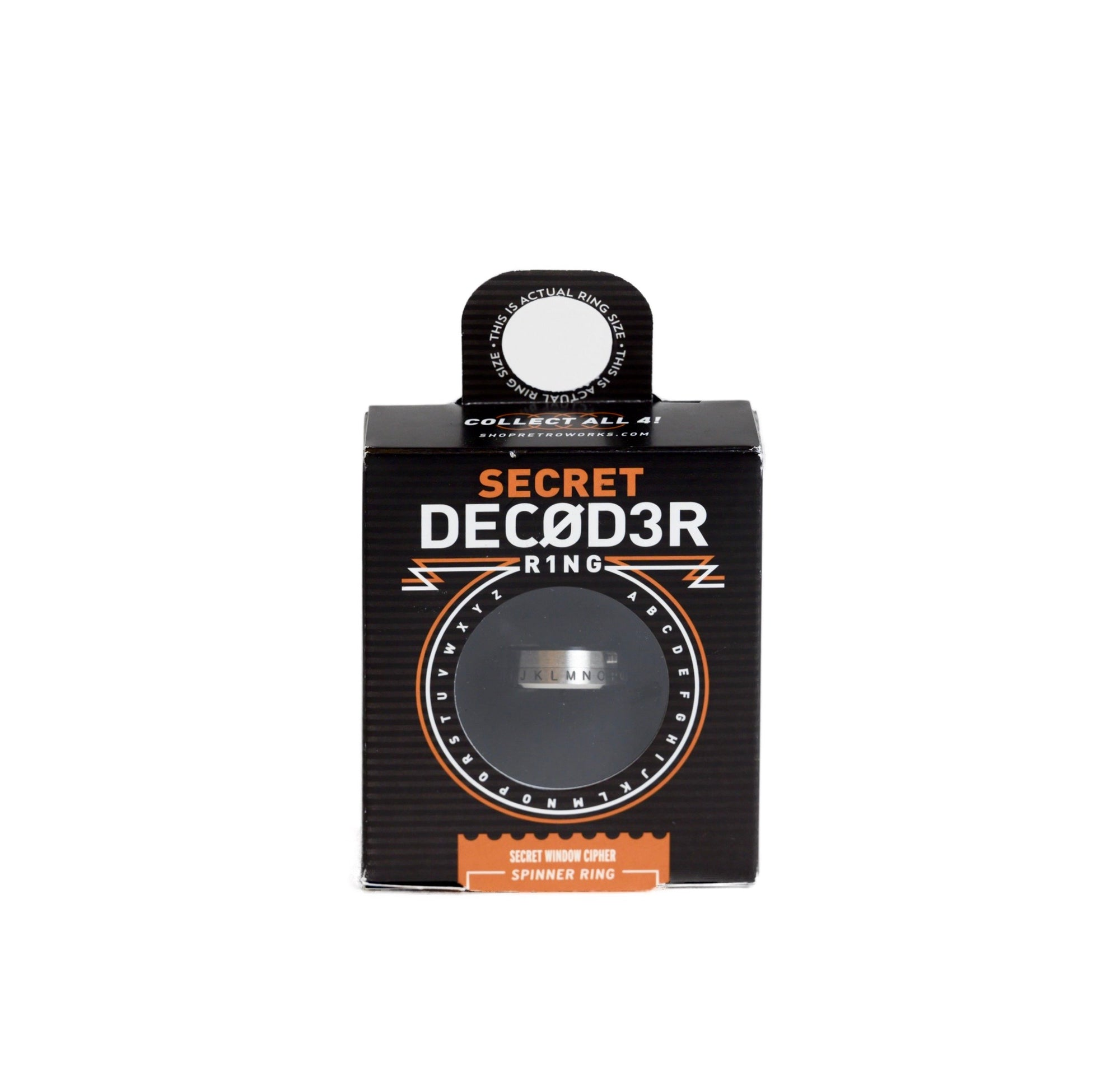 Cipher Secret Window Decoder Ring