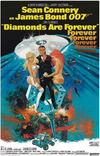 Diamonds Are Forever Movie Poster -