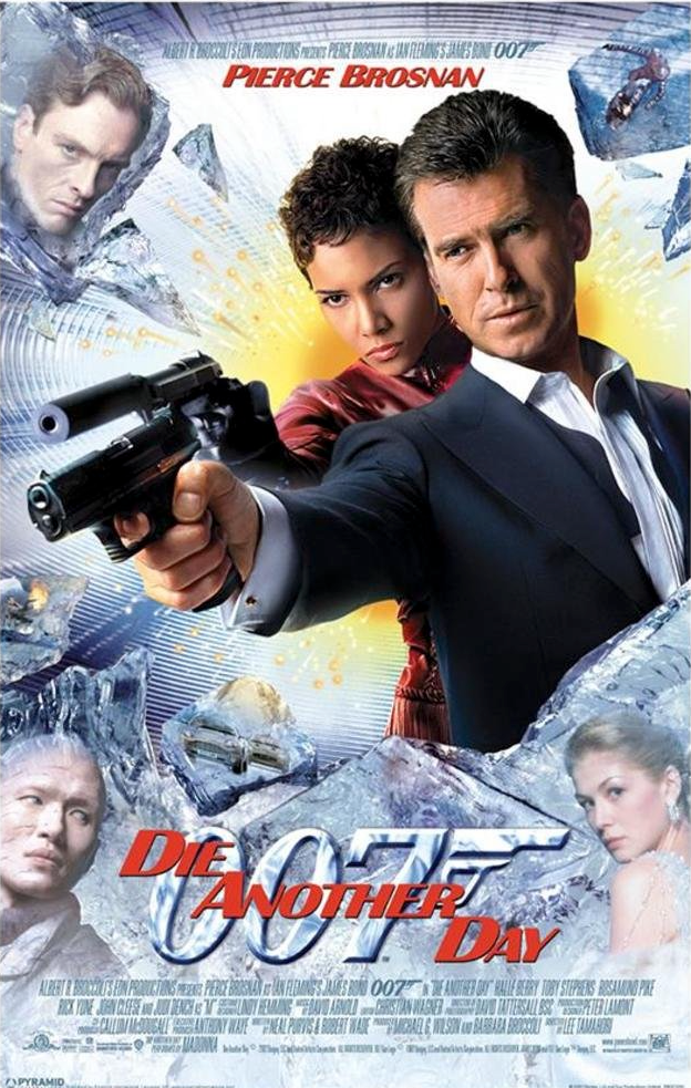 Die Another Day Poster -
