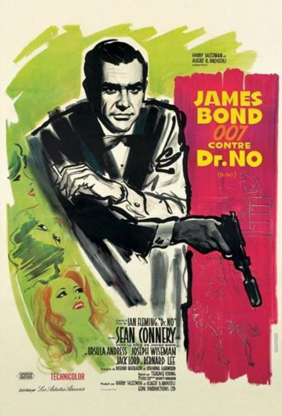 Dr. No Movie Poster -