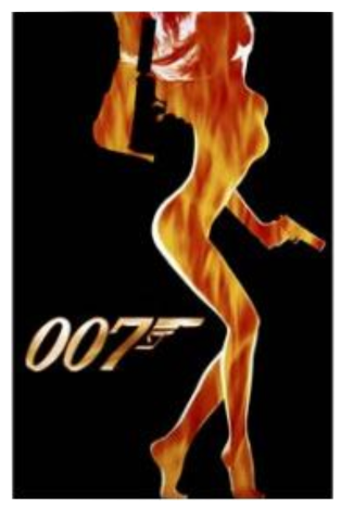 007 Silhouette Movie Poster -