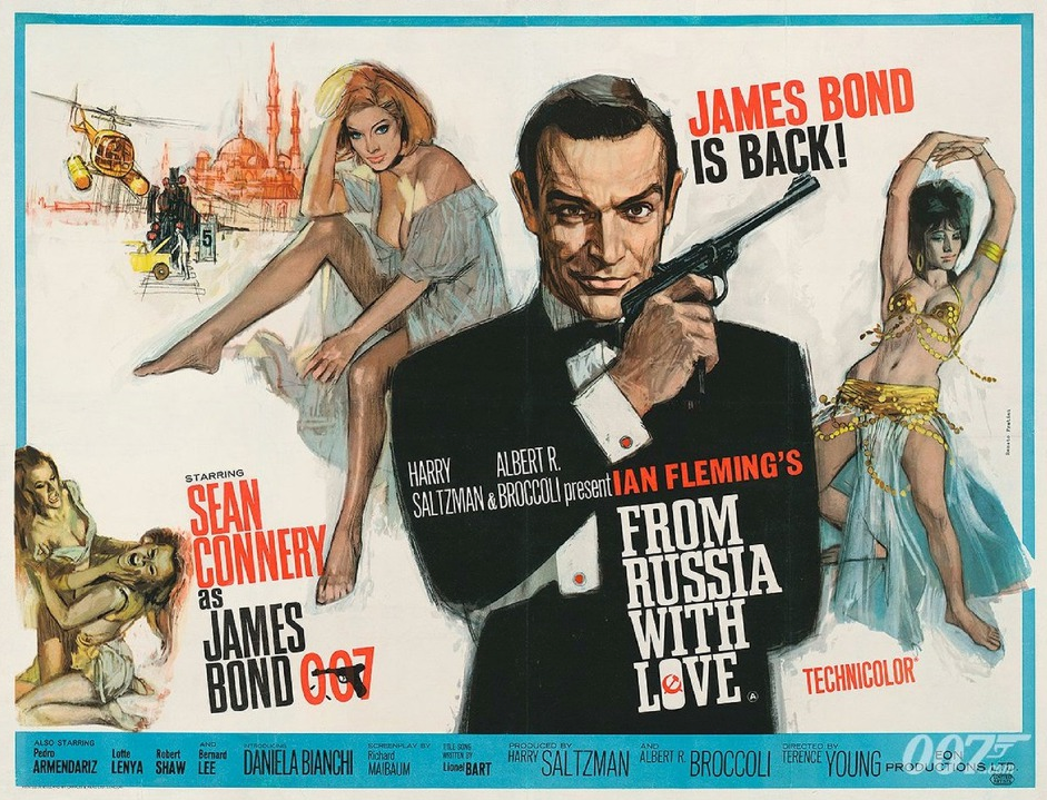 From Russia With Love Poster -