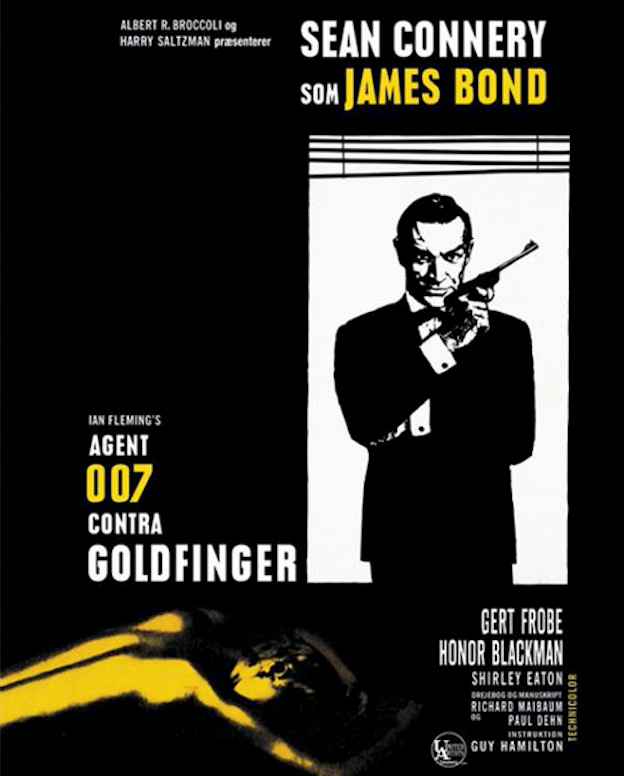 Goldfinger Movie Poster -
