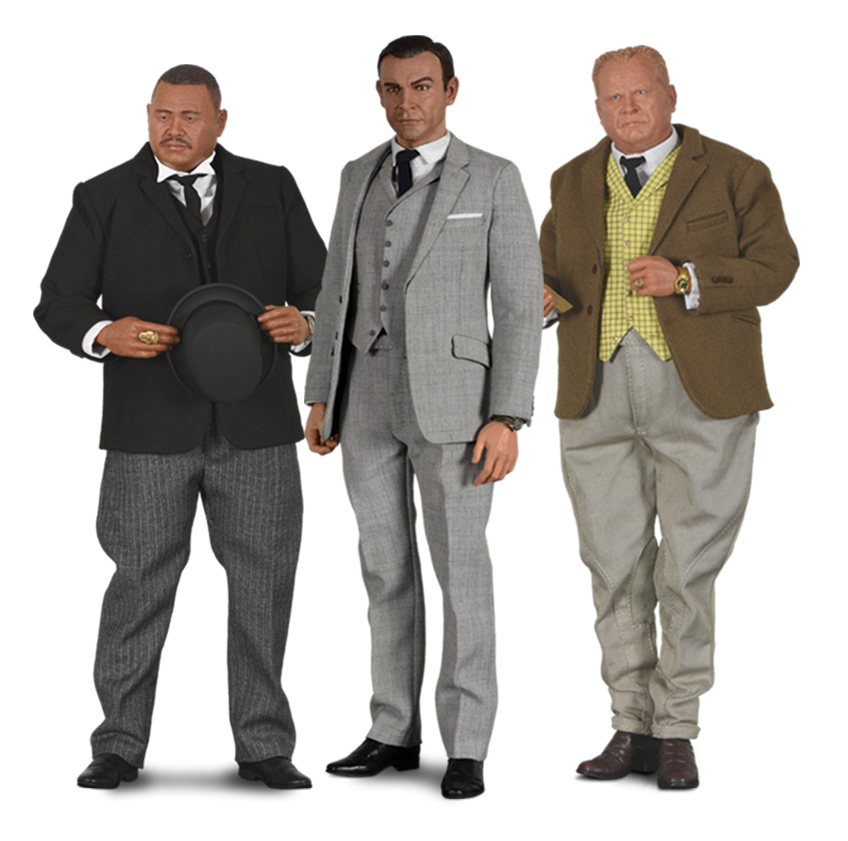 007 Goldfinger Figure Set