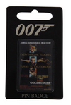 Pin Badge - Sean Connery - Goldfinger