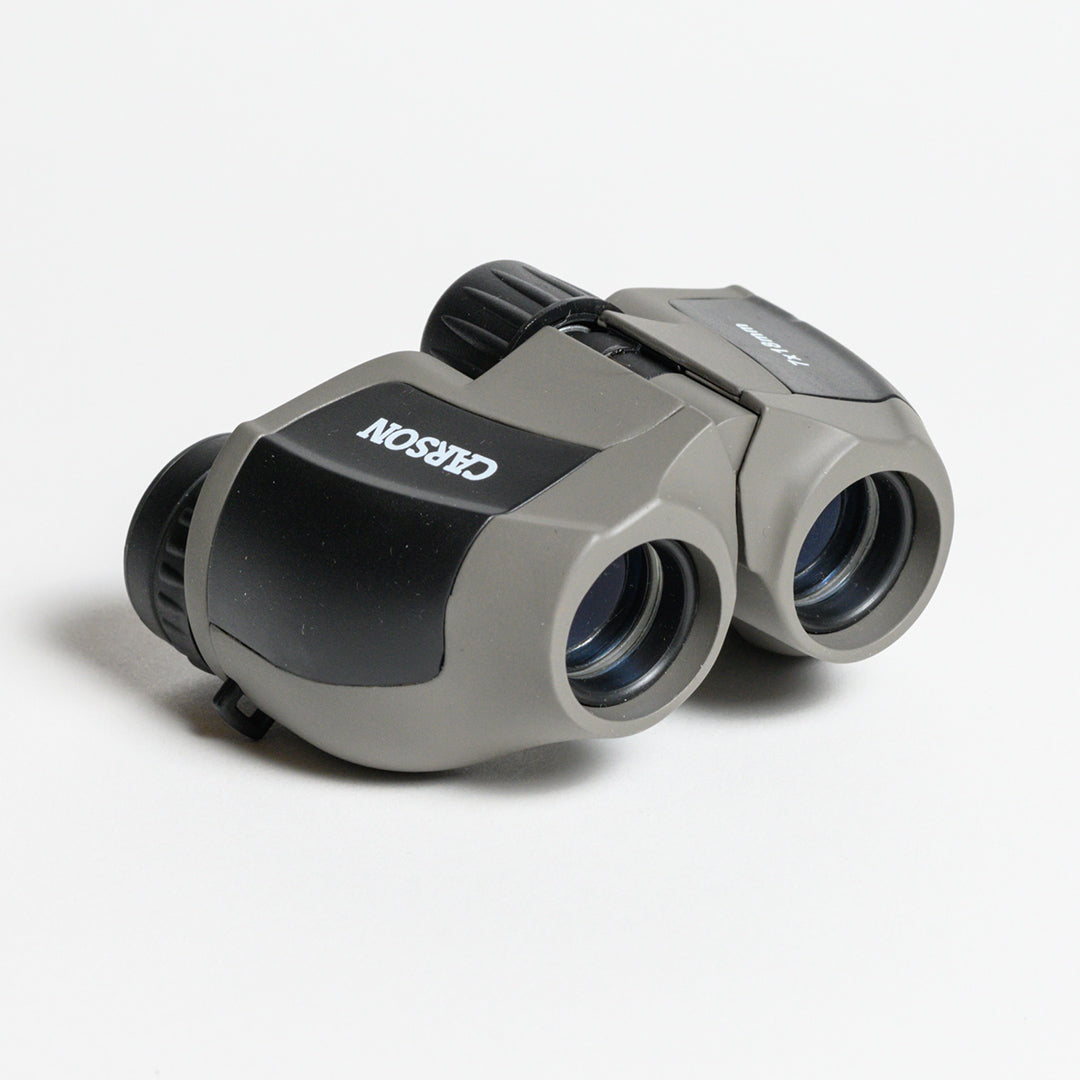 Mini Scout Binoculars - Front view of Mini Scout Binoculars out of the box
