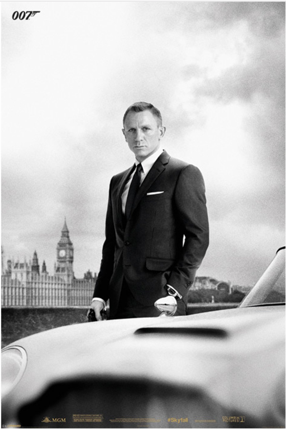 James Bond - Skyfall - DB5 - Poster