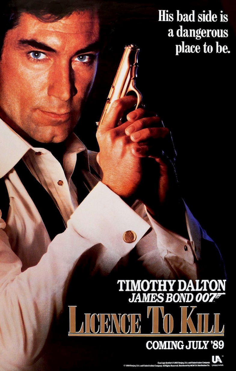 License to Kill Movie Poster