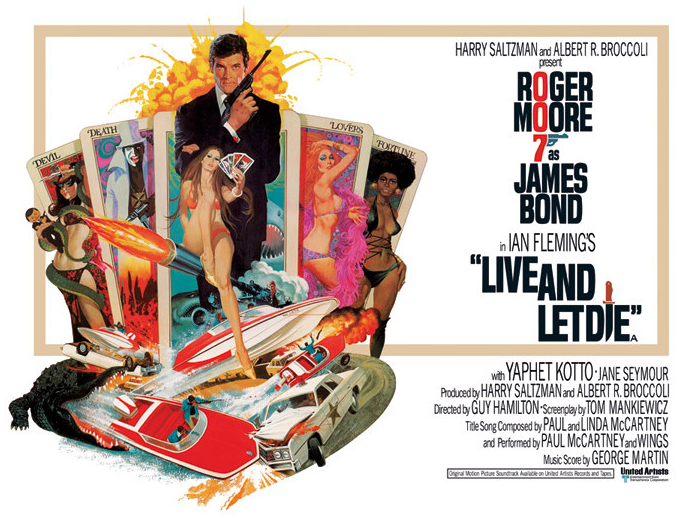 Live and Let Die Poster -