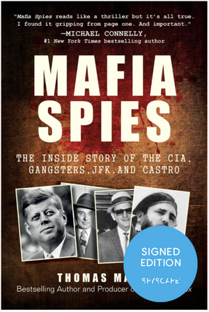 Signed First Edition Mafia Spies