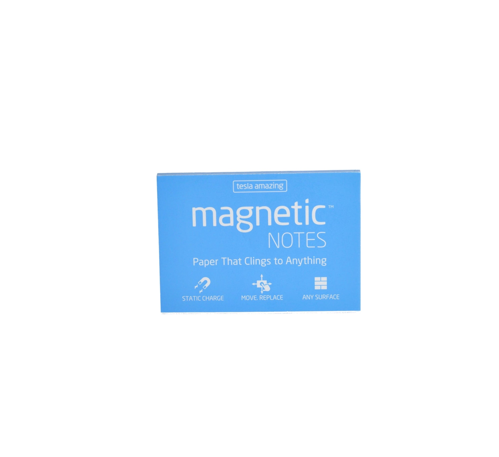 Magnetic Sticky Notes - Medium (Blue)