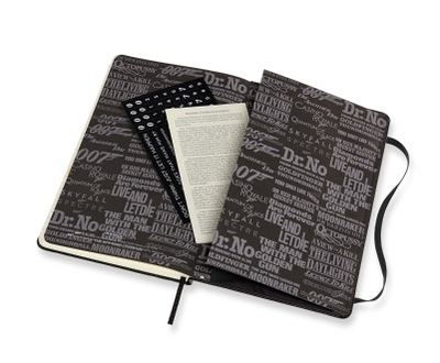 Limited Edition Notebook - James Bond Movies -