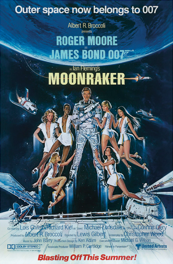 Moonraker Movie Poster -
