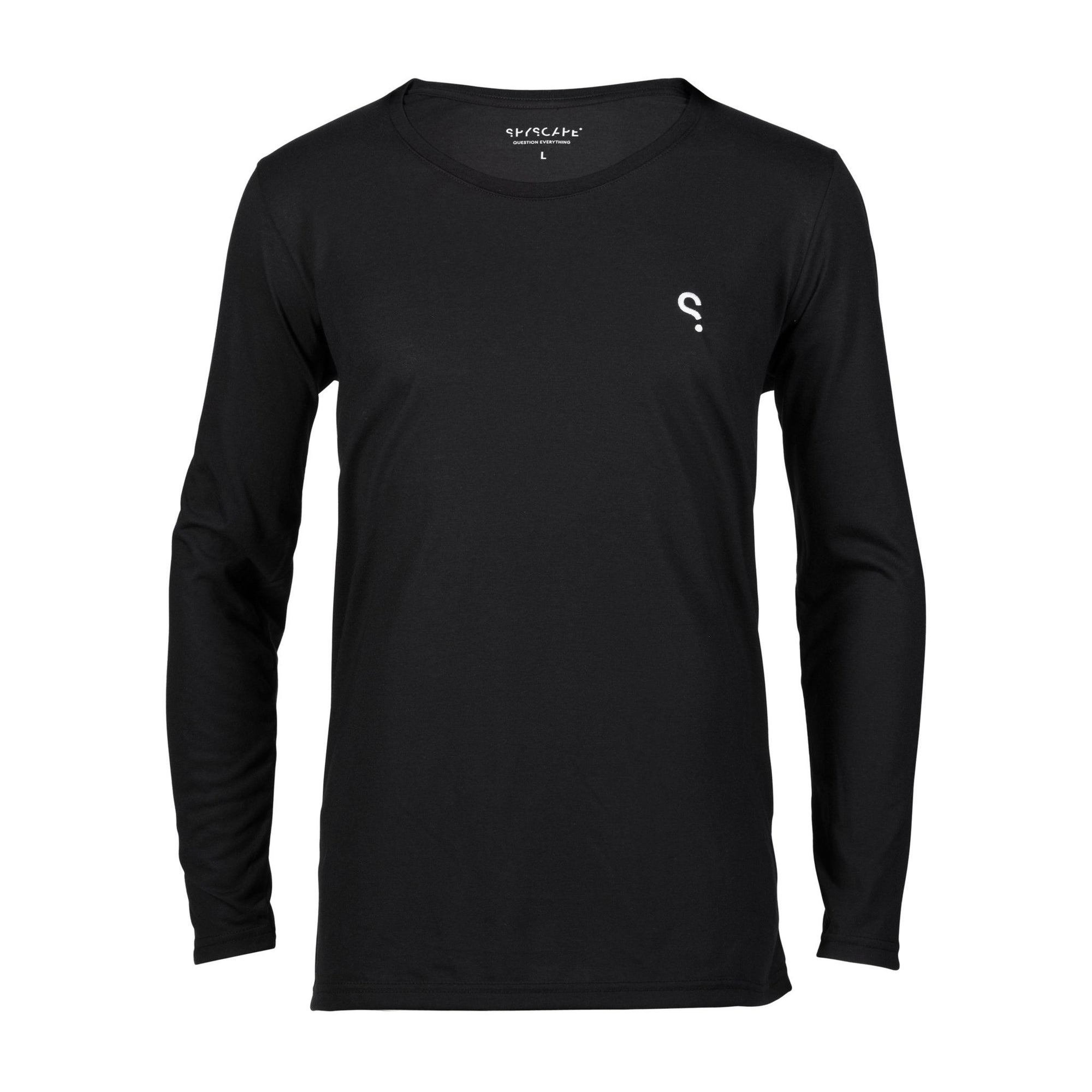 SPYSCAPE Embroidered Logo Long Sleeved Top
