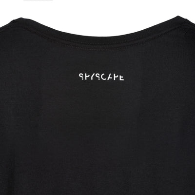 SPYSCAPE Tell the Truth T-Shirt with Hidden Zip Pocket - back of neck print SPYSCAPE