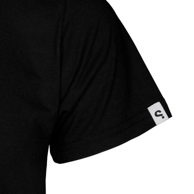 SPYSCAPE Cryptologist T-Shirt with Hidden Zip Pocket - logo sleeve tag