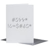 SPYSCAPE Happy Birthday Cipher Greeting Card -