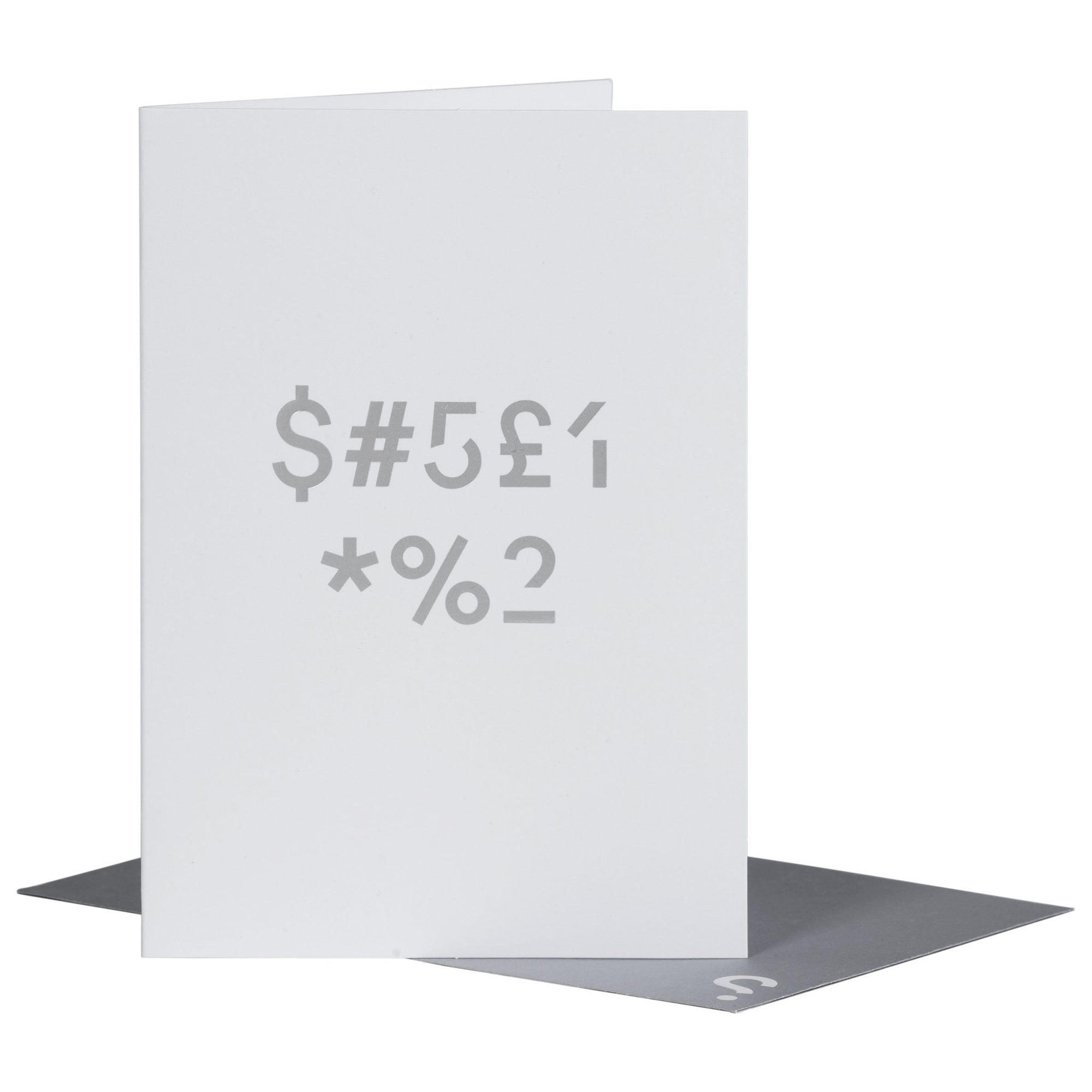 SPYSCAPE Thank You Cipher Greeting Card -