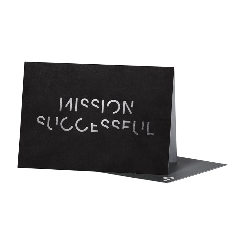 SPYSCAPE Mission Successful Greeting Card -