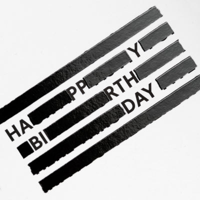 SPYSCAPE Happy Birthday Redacted Greeting Card -