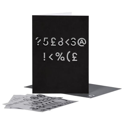 SPYSCAPE Encrypt Your Own Message Greeting Card -