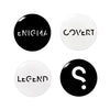 SPYSCAPE Button Badge Set -