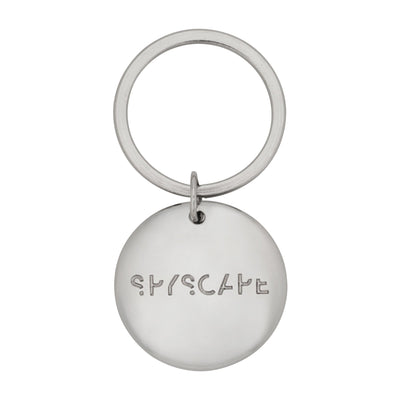 SPYSCAPE Silver Keyring -