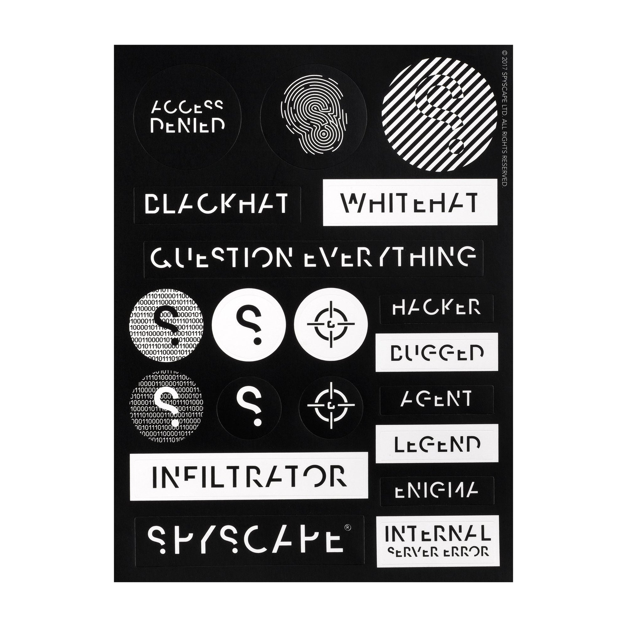 SPYSCAPE Spy Stickers -
