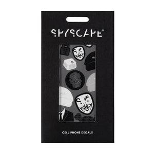 SPYSCAPE Hacker and Agent Decal Tech Book