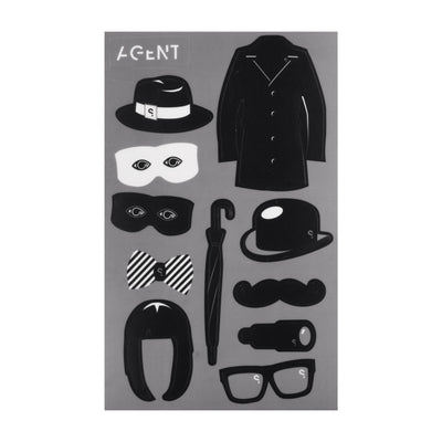SPYSCAPE Hacker and Agent Decal Book